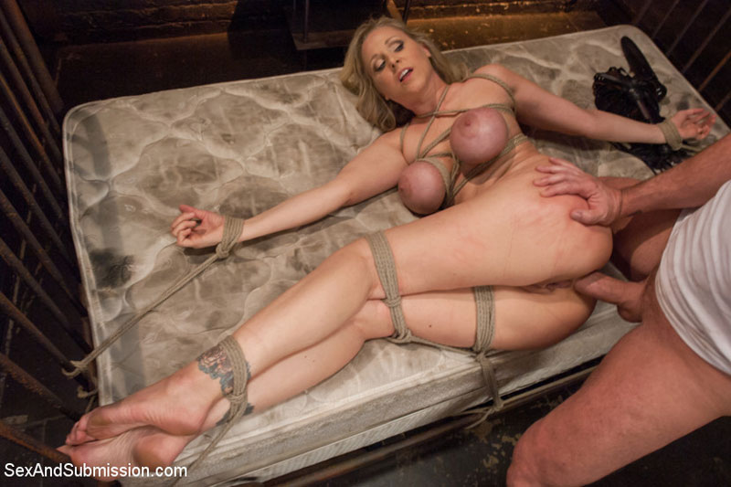 Blondes sub dominated by two harsh lesbian do 4